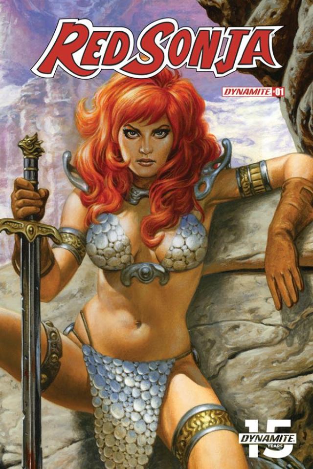 Red Sonja #1 (75 Copy Jusko Sneak Peak Cover)
