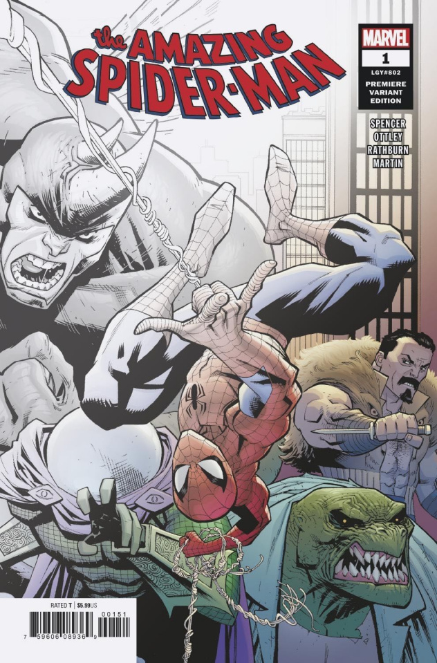 The Amazing Spider-Man #1 (Premiere Cover)