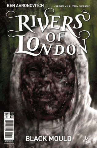 Rivers of London: Black Mould #5 (Percival Cover)