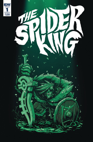 The Spider King #1 (Darmini Cover)