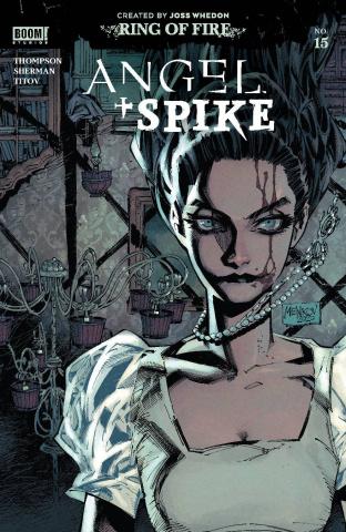 Angel & Spike #15 (Melkinov Cover)
