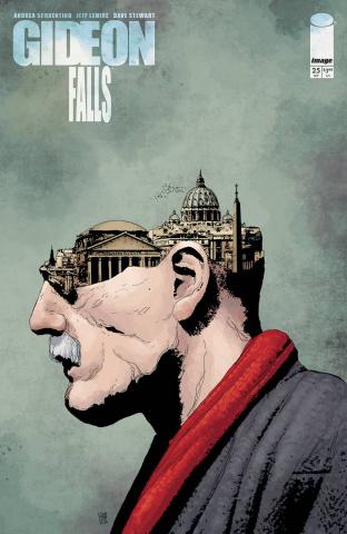 Gideon Falls #25 (Sorrentino & Stewart Cover)