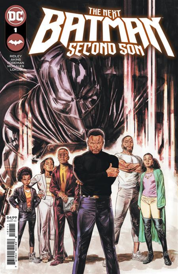The Next Batman: Second Son #1 (Doug Braithwaite Cover)