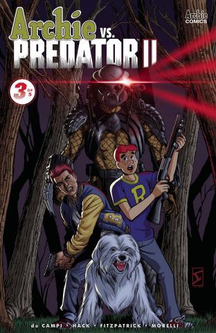 Archie vs. Predator II #3 (Igle Cover)