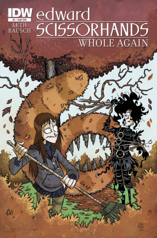 Edward Scissorhands #6 (Subscription Cover)