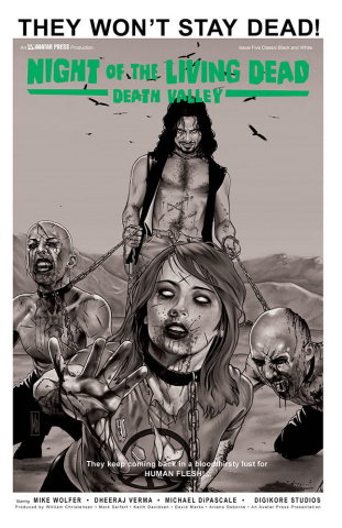 Night of the Living Dead: Death Valley #5 (Classic Cover)