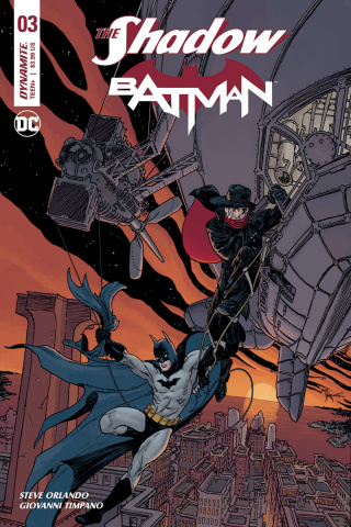 The Shadow / Batman #3 (Kaluta Cover)