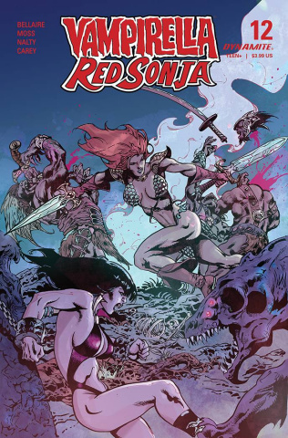 Vampirella / Red Sonja #12 (Castro Bonus Cover)
