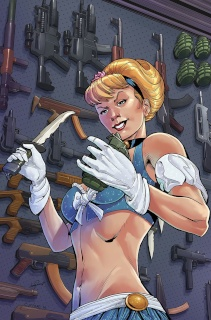 Cinderella: Serial Killer Princess #2 (Cuffari Cover)