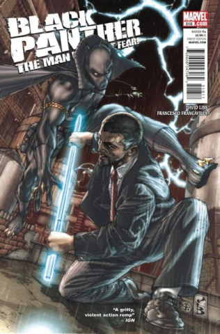 Black Panther: The Man Without Fear #518