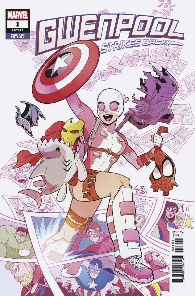Gwenpool Strikes Back #1 (Gurihiru Cover)