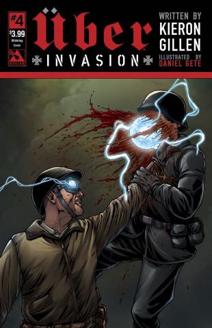 Über: Invasion #4 (Blitzkreig Cover)