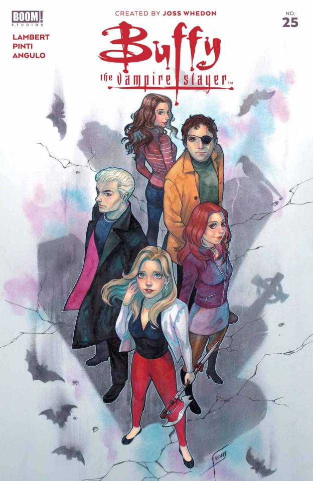 Buffy the Vampire Slayer #25 (Frany Foil Cover)