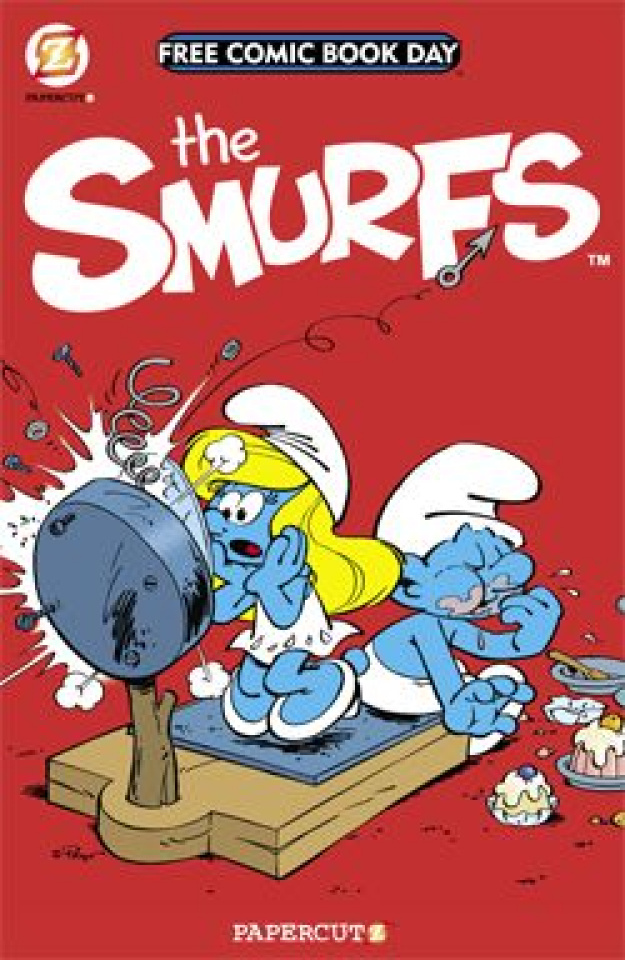 The Smurfs (Free Comic Book Day 2014)