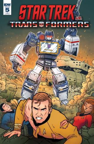 Star Trek vs. The Transformers #5 (10 Copy Panda Cover)