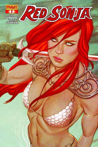 Red Sonja #1 (Frison Cover)