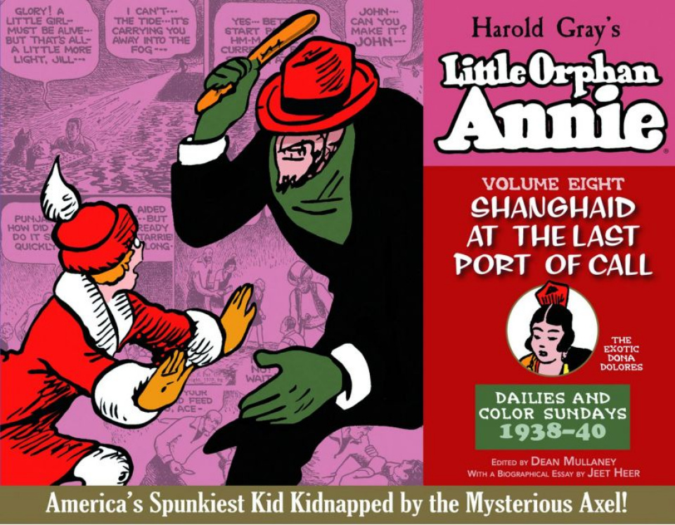 The Complete Little Orphan Annie Vol. 8