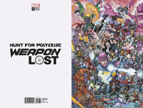 Hunt for Wolverine: Weapon Lost #1 (Where's Wolverine Cover)