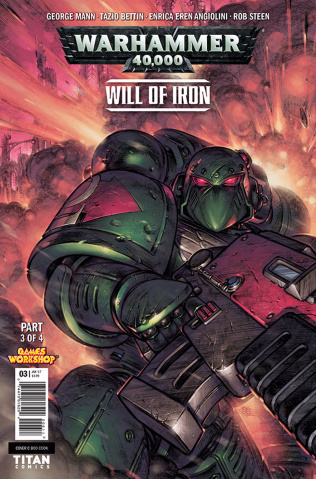 Warhammer 40,000: Will of Iron #3 (Cook Cover)