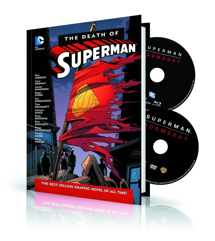 The Death of Superman DVD & BluRay Set