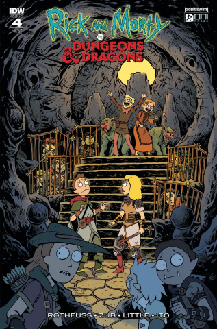 Rick and Morty vs. Dungeons & Dragons #4 (20 Copy Cover)
