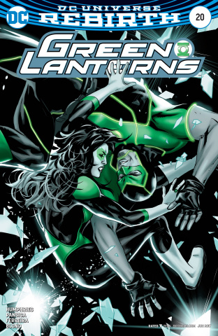 Green Lanterns #20 (Variant Cover)