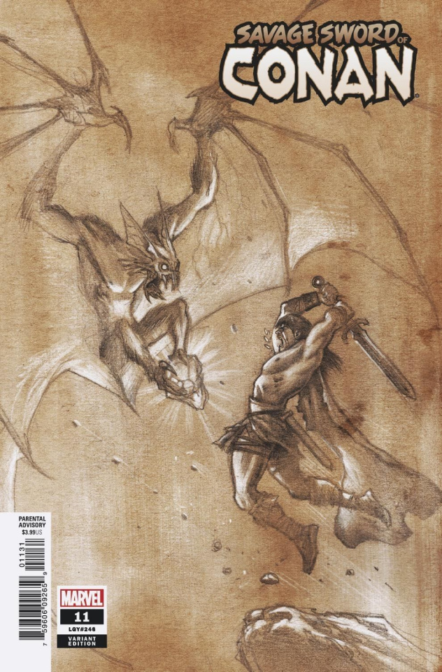 The Savage Sword of Conan #11 (Ferreyra Pencils Cover)