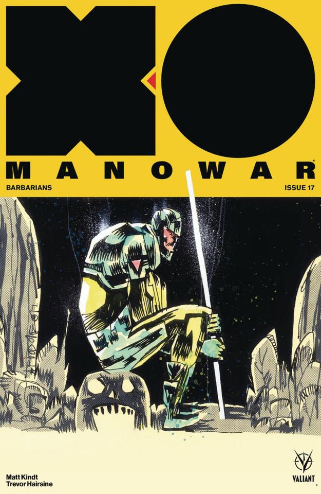 X-O Manowar #17 (Mahfood Cover)