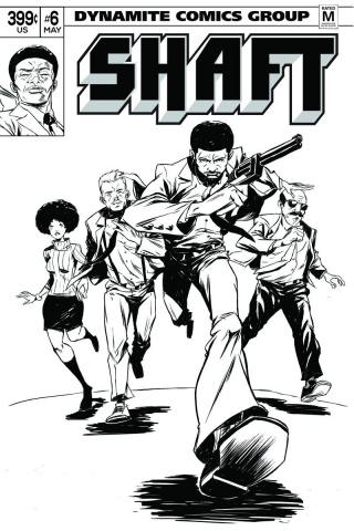 Shaft #6 (15 Copy Greene B&W Cover)