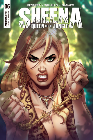 Sheena #6 (Sanapo Cover)