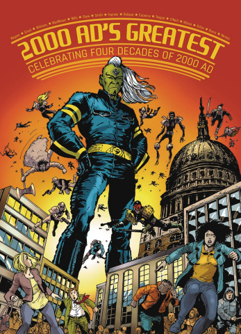 Galaxy's Greatest: Four Decades of 2000 AD