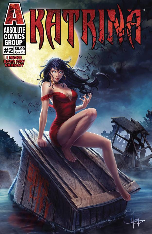 Katrina #2 (Creees Make Boys Cry Holo Foil Logo Cover)