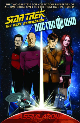 Star Trek: The Next Generation/Doctor Who - Assimilation