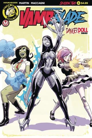 Vampblade, Season Two #6 (Winston Young Cover)