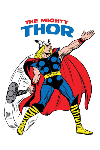 The Mighty Thor #700 (Kirby 1965 T-Shirt Cover)