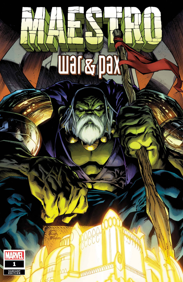 Maestro: War & Pax #1 (Stegman Cover)