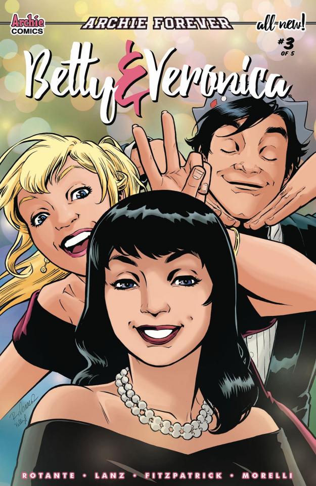 Betty & Veronica #3 (Isaacs Cover)