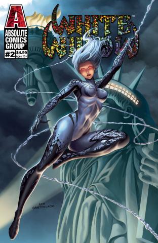 White Widow #2 (Continuado Foil Cover)