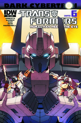 The Transformers: More Than Meets the Eye #25: Dark Cybertron, Part 6