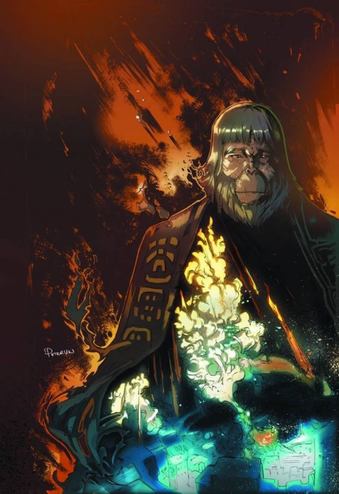 Planet of the Apes: Cataclysm #1 (2nd Printing)