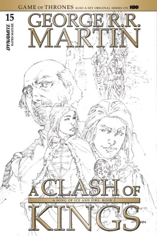 A Game of Thrones: A Clash of Kings #15 (15 Copy Rubi B&W Cover)