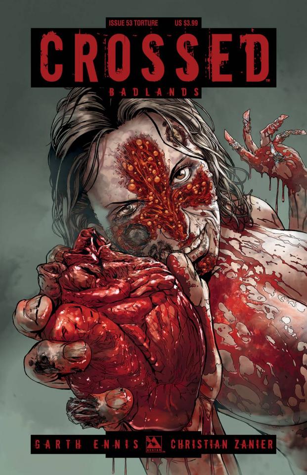 Crossed: Badlands #53 (Torture Cover)