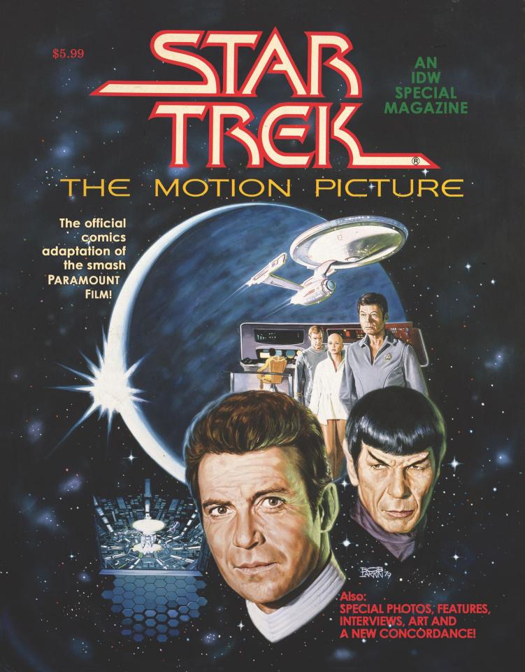 Star Trek: The Motion Picture (Facsimile Edition)