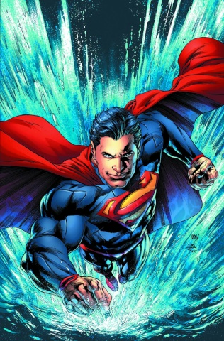 Superman Unchained #8 (Reis & Prado Cover)