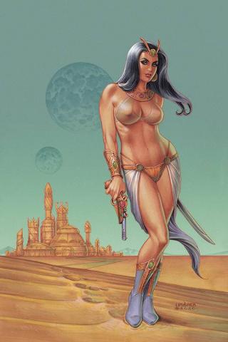 Dejah Thoris #6 (Linsner Virgin Cover)