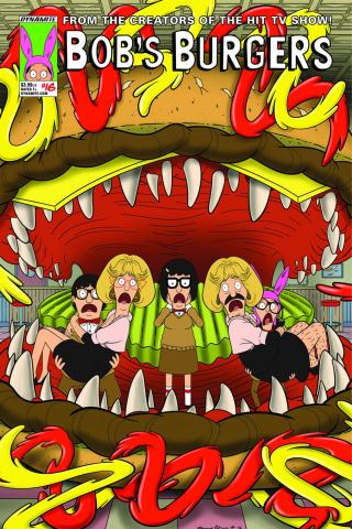 Bob's Burgers #16 (Danna Cover)