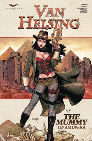 Grimm Fairy Tales: Van Helsing vs. The Mummy of Amun Ra
