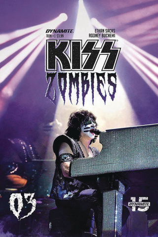 KISS: Zombies #3 (Photo Cover)