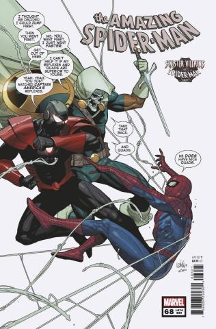 The Amazing Spider-Man #68 (Yu Spider-Man Villains Cover)
