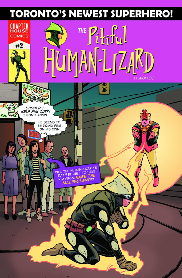 The Pitiful Human-Lizard #2